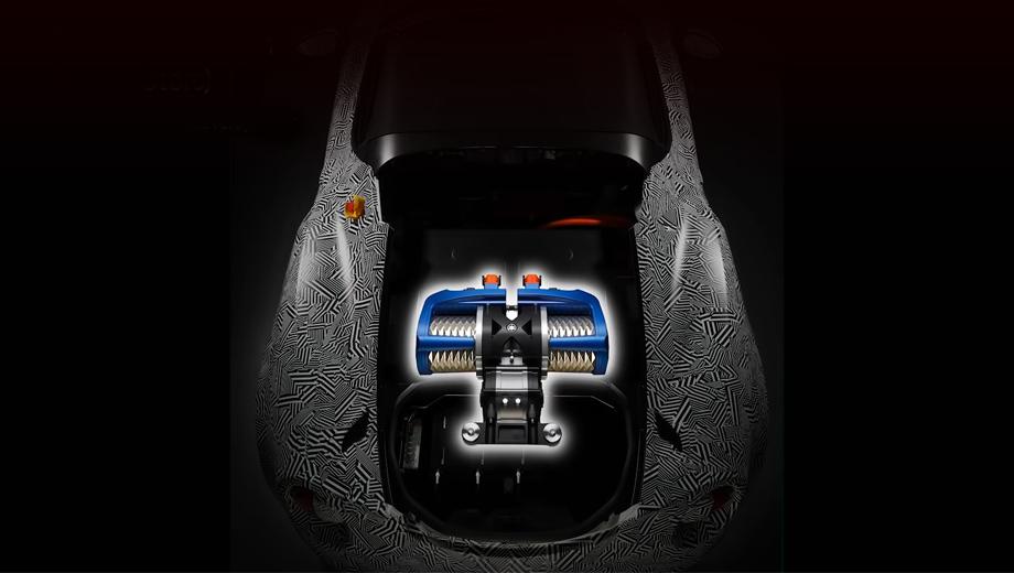 Alfaromeo 4c spider. Напрямую Alfa Ямахой не упоминается, однако распознать в прототипе известный среднемоторный родстер нетрудно. Почему для опыта взята именно эта двухдверка, инженеры не пояснили.