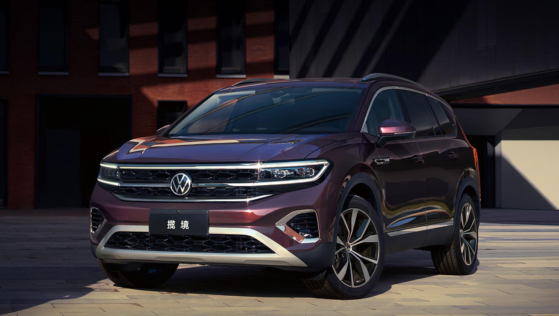 Volkswagen talagon. Предприятие FAW Volkswagen одарило модель китайским именем Lanjing (Ланьцзин). Её размеры: 5152×2002×1795 мм, колёсная база — 2980. Уникальный, по мнению немцев, внешний вид новичку придаёт «световой пакет», обеспечивающий подсветку дверных ручек, направляющих и логотипов.