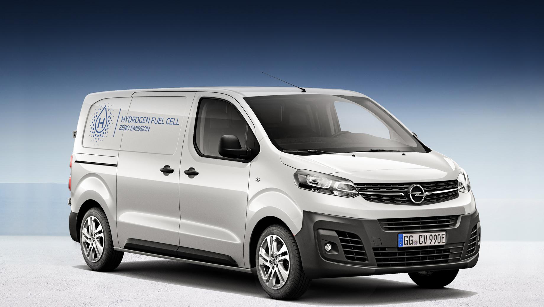 Opel vivaro,Opel vivaro-e hydrogen. Водородный Vivaro не уступает собратьям в объёме грузового отсека (5,3–6,1 м³ при длине кузова 4,95 или 5,3 м), а грузоподъёмность составляет 1100 кг (на 90–170 кг больше, чем у Vivaro-e аналогичного размера).