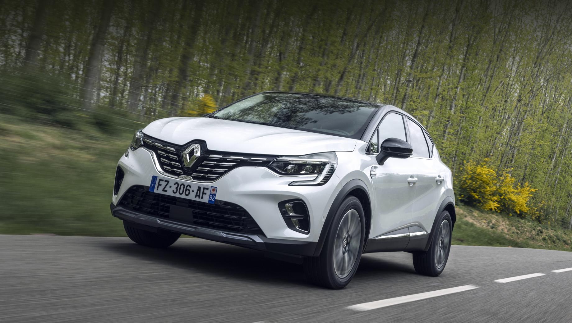 Renault captur,Renault arkana,Renault megane. Новый гибридный Captur может быть выполнен в нескольких вариациях, тут показана «роскошная» Initiale Paris.