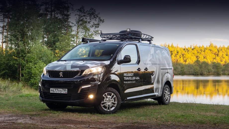 Peugeot traveller,Peugeot concept. О потенциальной постановке такой модификации на конвейер или опциях для серийных Тревеллеров производитель ничего не сообщил.